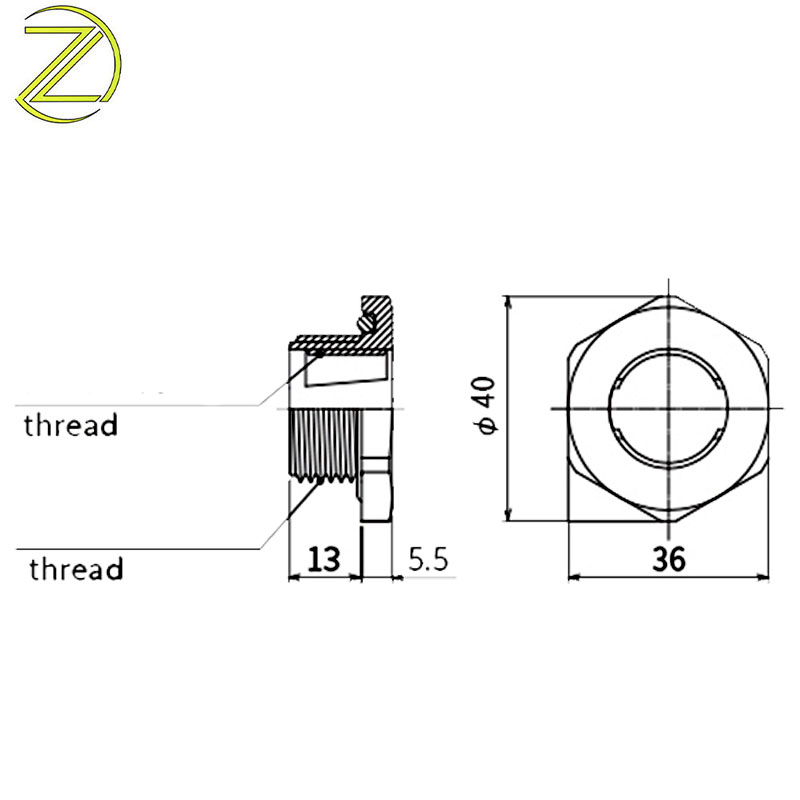 Cable Gland PG Thread